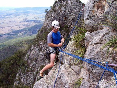 The veteran climber known as 'superman' died from the fall.