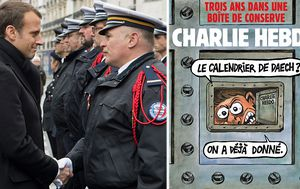 Three years after attack Charlie Hebdo still dogged by death threats