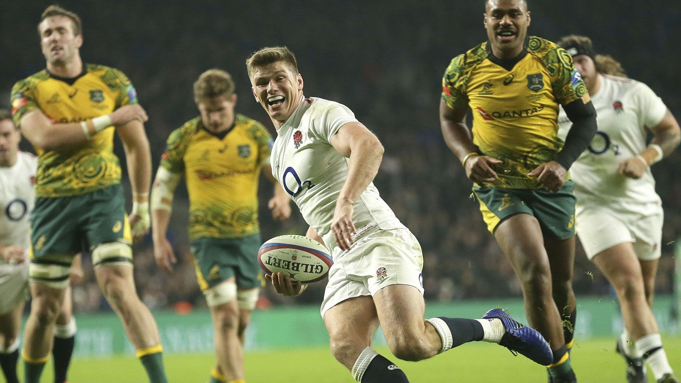 Humiliated Wallabies fume after shoulder charge denies try in England loss