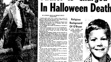 "Ronald O'Bryan earned himself the titles of ""Candy Man"" and the ""Man who killed Halloween"" after he gave his son Timothy, 8, a cyanide-laced sweet while trick or treating in Houston in 1974."