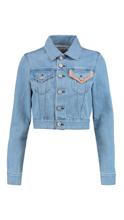"<a href=""http://www.theoutnet.com/en-AU/product/Etre-Cecile/Embroidered-denim-jacket/551469"" target=""_blank"">Jacket, approx. $154, Etre Cecile at theoutnet.com</a>"