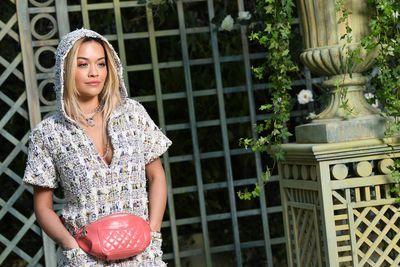 Singer Rita Ora at Chanel Haute Couture Spring Summer '18