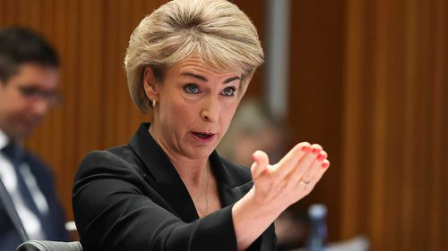 Attorney-General Michaelia Cash celebrated the new legislation making sexual harassment a sackable offence.