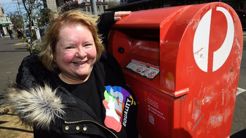 Szubanski urged participants in the same-sex marriage survey to just sent their votes. (AAP)