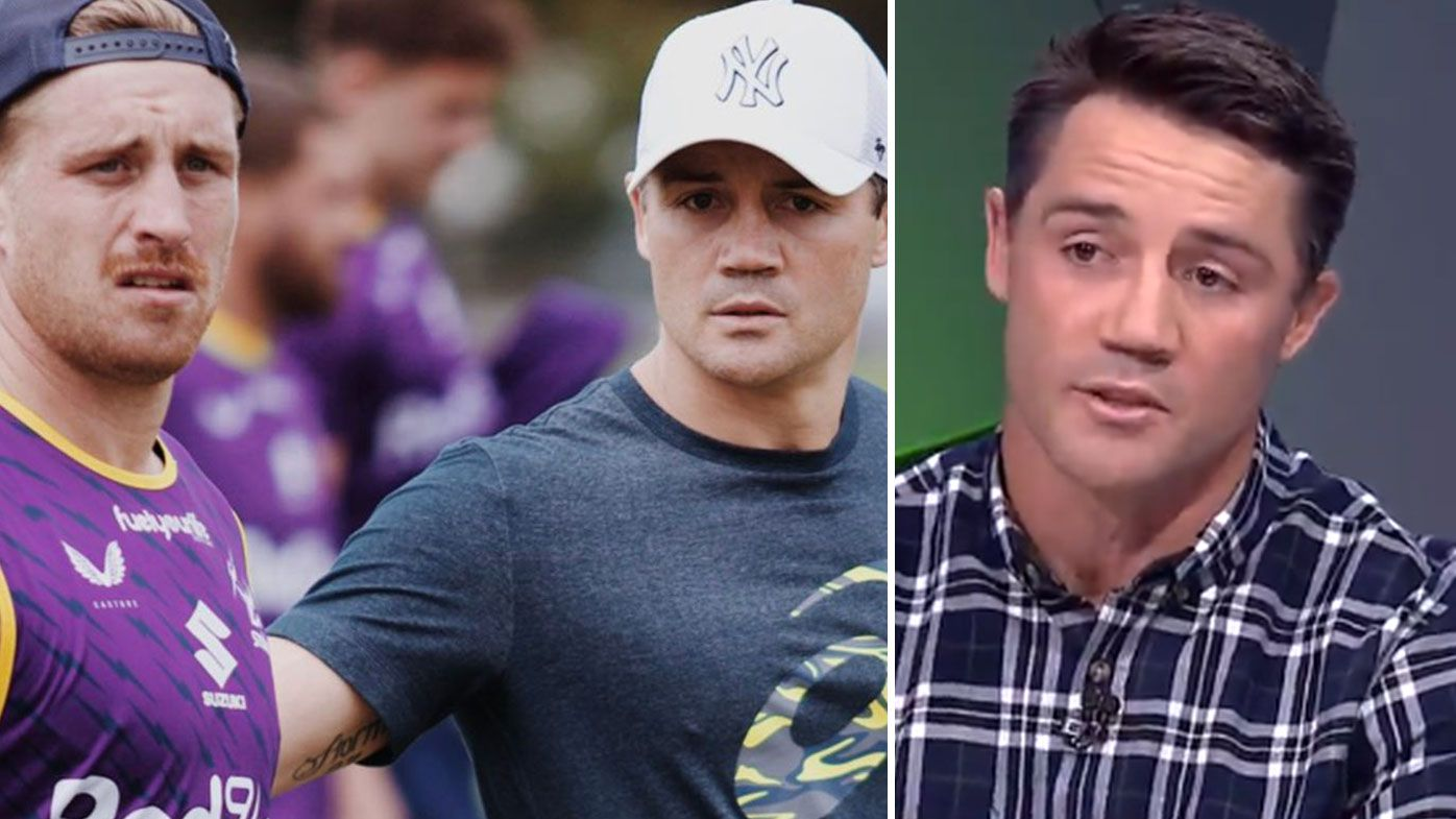 'Trent Robinson signed off on that': Cooper Cronk hits out at 'double agent' furore