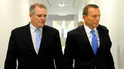 <p>In December 2009 Mr Morrison was again promoted.</p> <p>Shortly after wresting the Liberal leadership from Malcolm Turnbull by a single vote, Tony Abbott appointed Mr Morrison as shadow minister for immigration and citizenship.</p>