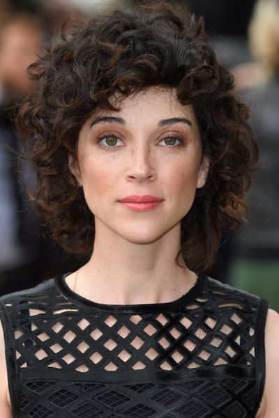 Singer St. Vincent (née Annie Clark) has a unique sound and a look to match.