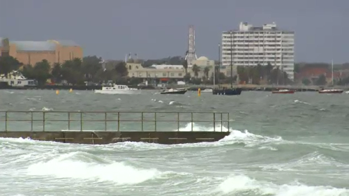 Hazardous surf and damaging winds are forecast for Australia's southeast today. (File footage)