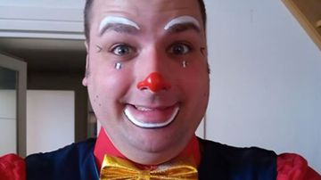 Professional clown Kevin Laperie allegedly killed his ex-partner and then broadcast a rooftop standoff with police live on Facebook.
