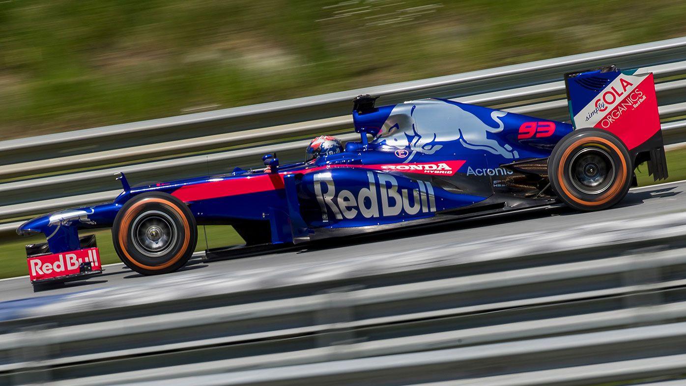 Marquez impresses in F1 Toro Rosso test