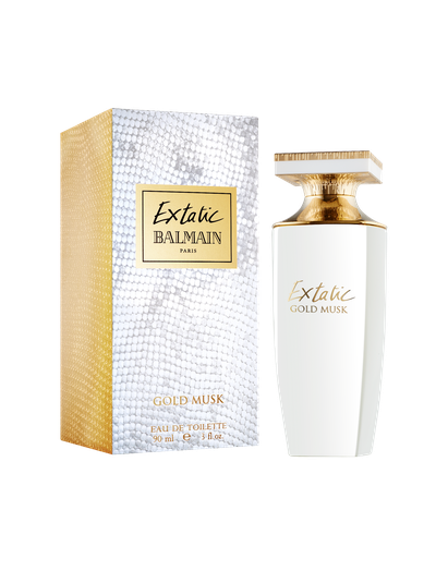 "<a href=""http://www.myer.com.au/shop/mystore/extatic-balmain-extatic-edp"" target=""_blank"">Balmain Extatic Gold Musk EDP (90ml), $135.</a>"
