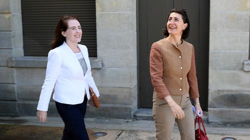 """Days earlier, Premier Gladys Berejiklian wrote to preselectors to endorse Ms Wilson as the """"best placed"""" candidate to represent the Liberal Party at the 2019 State Election."""