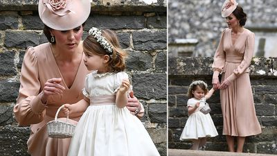 Princess Charlotte looked adorable