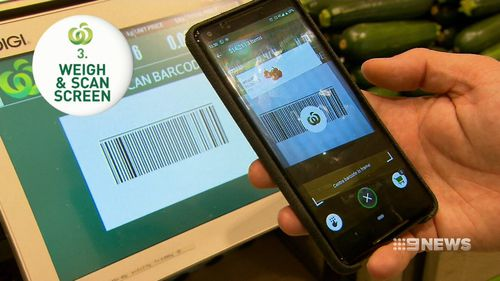 Woolworths customers can now trial a 'scan and go' way to purchase items.