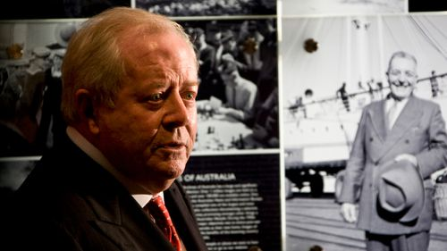 Harold Holt's son Robert said children never get over the deaths of their fathers. (AAP)