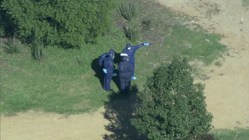 Police were left traumatised when they arrived at the property. (9NEWS)