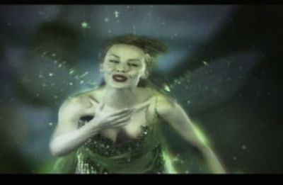 Kylie Minogue as the Green Fairy in<i> Moulin Rouge.</i>
