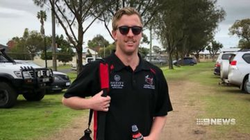 'Never forgotten': Young footballer dies during AFL training