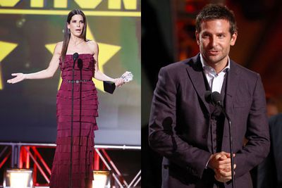 Sandra Bullock and Bradley Cooper each dropped F-bombs at the Critics' Choice Awards...