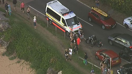 Emergency services were called to the scene just before 4pm. (9NEWS)