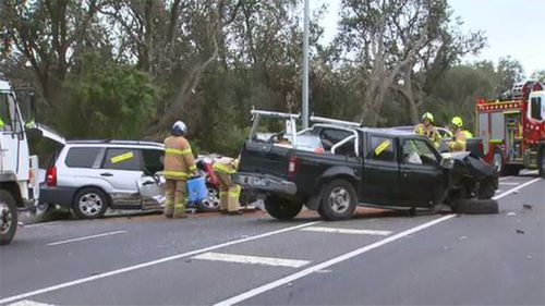 The head-on collision claimed the life of 43-year-old Rose Kelly.