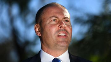 Josh Frydenberg has been targeted with anti-Semitic graffiti.