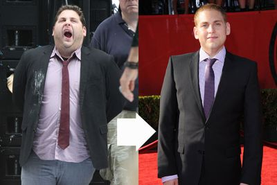 Chubby celebs who beat the bulge!