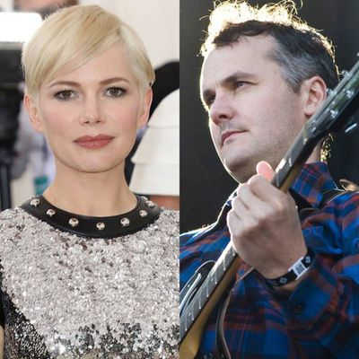 Michelle Williams and Phil Elverum