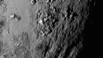 New Horizons sends back first detailed picture of Pluto's surface