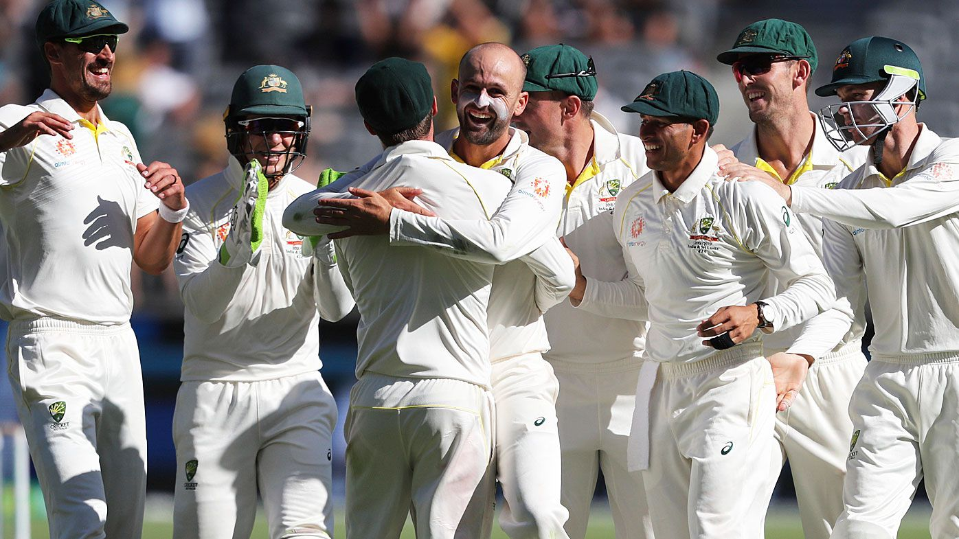 Nathan Lyon leads the way as Australia levels Test series with India