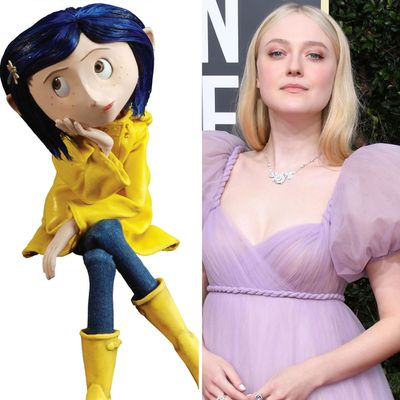 Dakota Fanning as Coraline