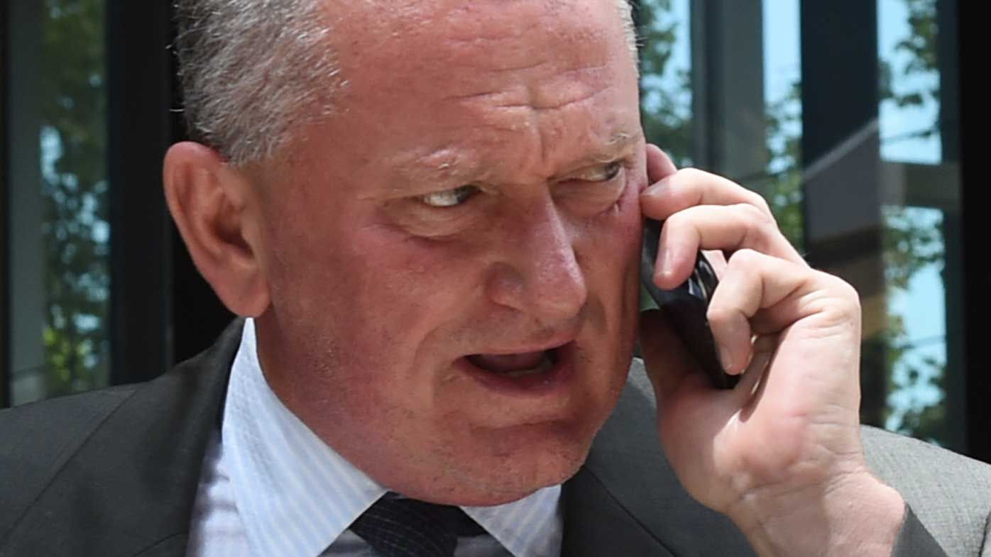 Stephen Dank outside court last month. (AAP)