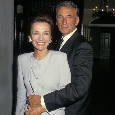 Lee Radziwill and Herb Ross on their wedding day in 1988.