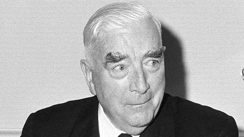 Sir Robert Menzies.