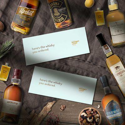 Whisky Lover's Valentine's Bundle, $129