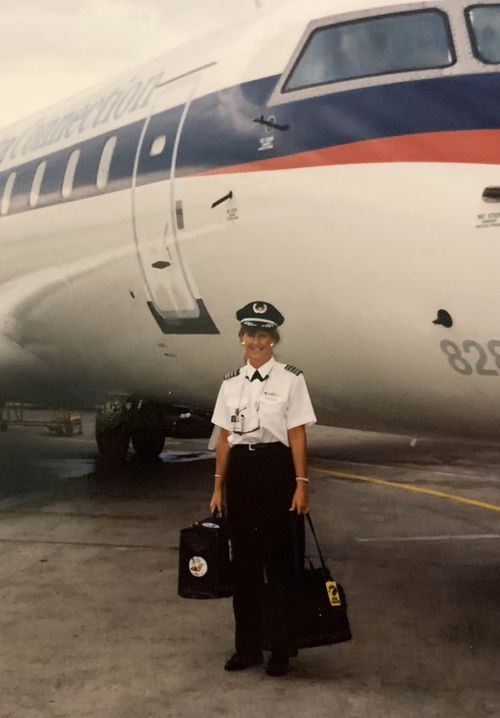 Former airline pilot Celia has been struck down by strange and painful symptoms of coronavirus more than five months after catching the virus.