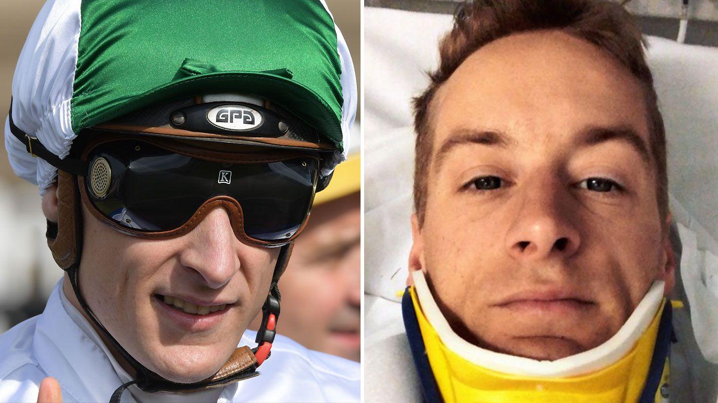 Star jockey Blake Shinn fractures vertebrae in horror fall at Randwick barrier trials