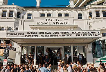 Daily Quiz: Melbourne's Esplanade Hotel is situated in which suburb?