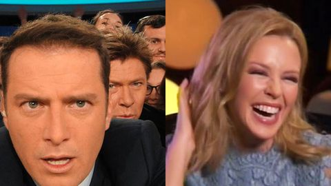 Karl Stefanovic: Richard Wilkins' flirty Kylie interview was 'like watching your parents root'