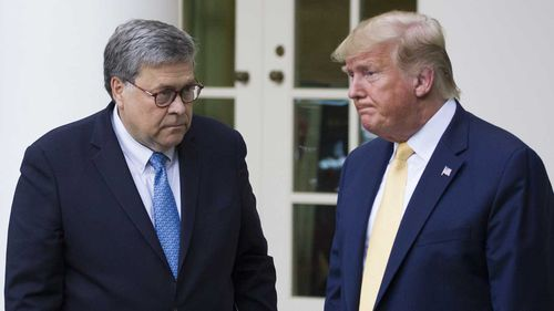 William Barr said Donald Trump's tweets make it 'impossible for me to do my job'.