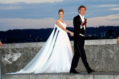 Pierre Casiraghi of Monaco and Beatrice Borromeo, July 25 2015
