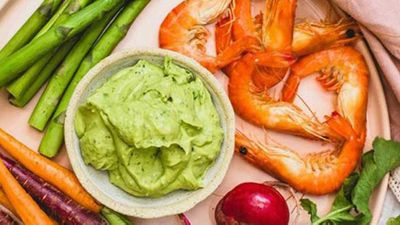 "It's just not a party without a good avocado dip -&nbsp;<a href=""http://kitchen.nine.com.au/2016/10/23/21/56/anthia-koullouros-velvety-avocado-dip"" target=""_top"">Anthia Koullouros' velvety avocado dip</a>&nbsp;recipe"