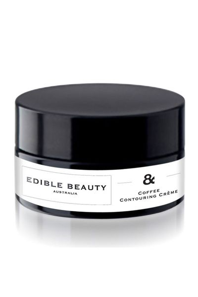 "<a href=""http://www.sephora.com.au/th/products/edible-beauty-and-coffee-contouring-creme-100g"" target=""_blank"">Coffee Contouring Crème, $53, Edible Beauty</a>"
