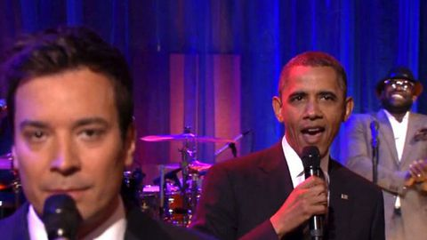 Watch: President Obama slow jams the news with Jimmy Fallon