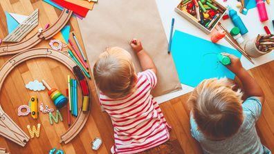 childcare stock image