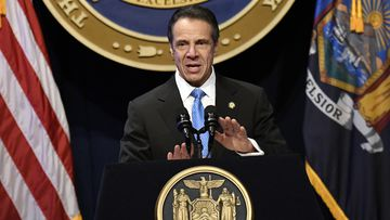 New York Gov. Andrew Cuomo delivers his State of the State address at the Empire State Plaza Convention Center, in Albany, N.Y.