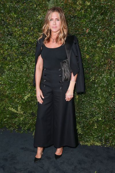 Actress Jennifer Aniston in Chanel