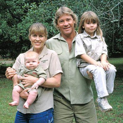 Bindi Irwin, Chandler Powell, DVD, The Crocodile Hunter, throwback photo