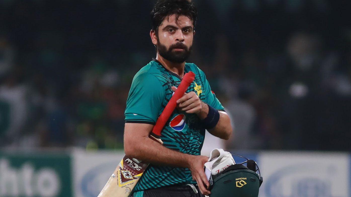 Pakistan batsman Ahmed Shehzad