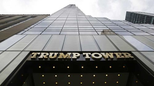 Trump Tower in Manhattan. (AAP)